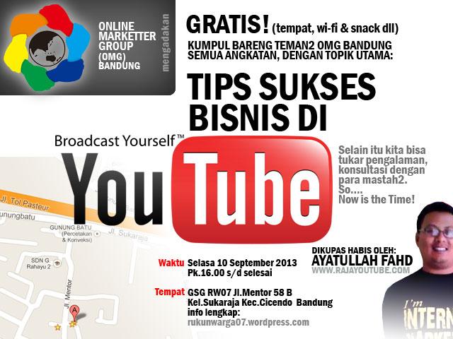Tips Sukses Bisnis di YouTube